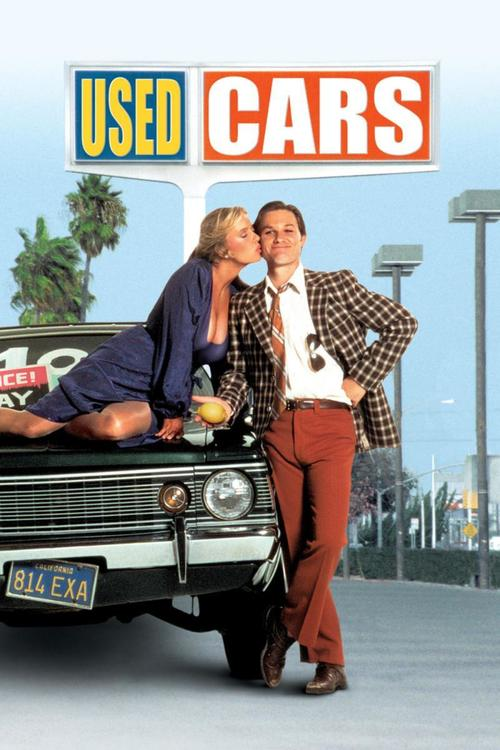 """Poster for the movie """"Used Cars"""""""