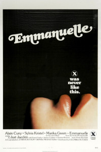 "Poster for the movie ""Emmanuelle"""