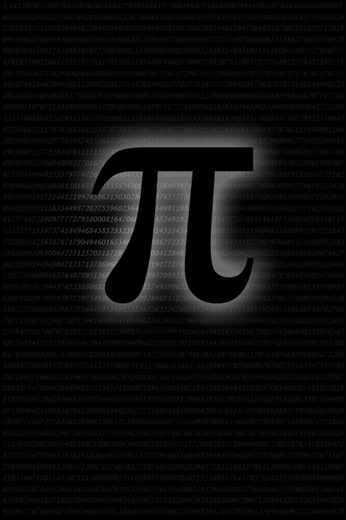 """Poster for the movie """"Pi"""""""