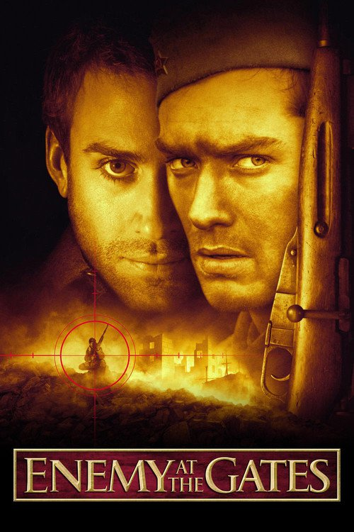 """Poster for the movie """"Enemy at the Gates"""""""