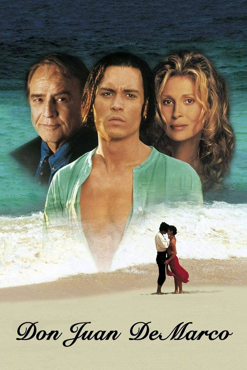 "Poster for the movie ""Don Juan DeMarco"""