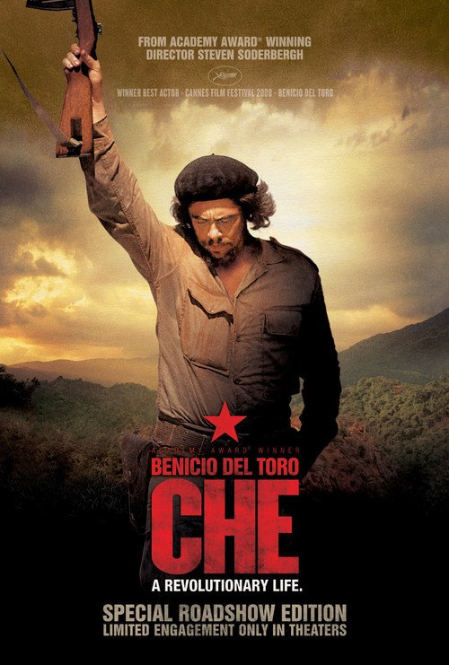 "Poster for the movie ""Che: Part One"""
