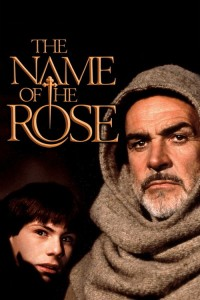 "Poster for the movie ""The Name of the Rose"""