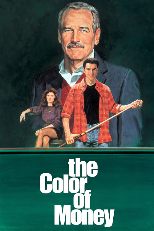 "Poster for the movie ""The Color of Money"""