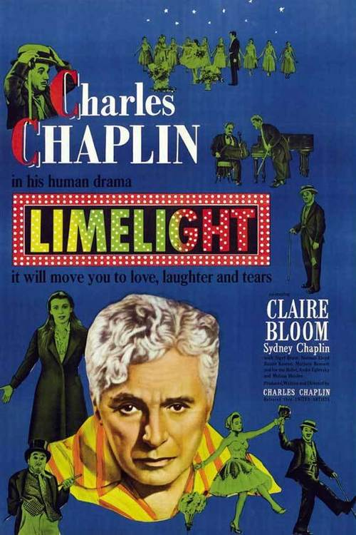 "Poster for the movie ""Limelight"""