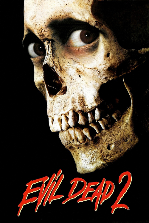 """Poster for the movie """"Evil Dead II"""""""