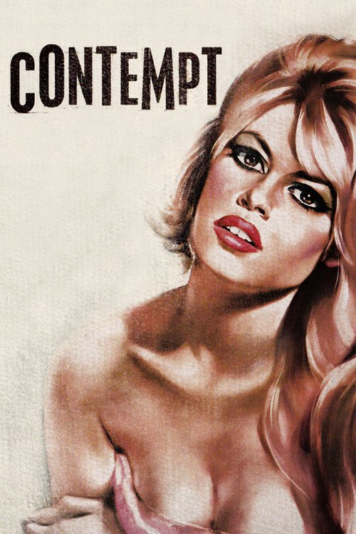 "Poster for the movie ""Contempt"""