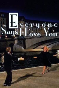 "Poster for the movie ""Everyone Says I Love You"""