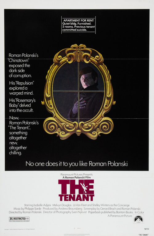 "Poster for the movie ""The Tenant"""