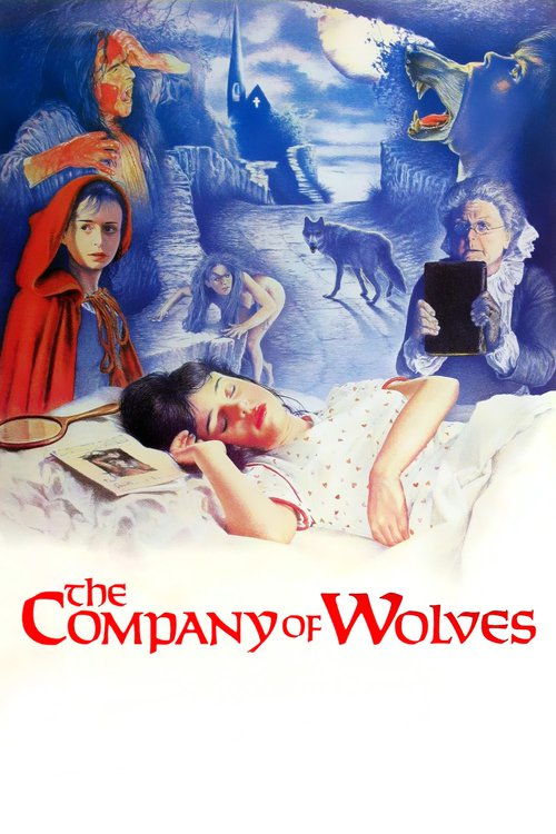 "Poster for the movie ""The Company of Wolves"""
