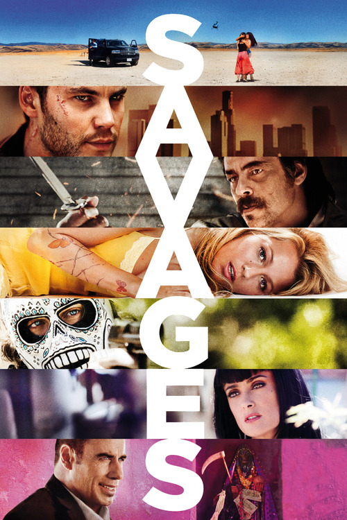 "Poster for the movie ""Savages"""