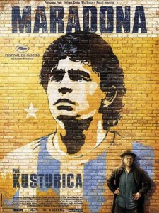 "Poster for the movie ""Maradona by Kusturica"""