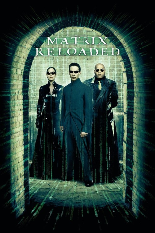 """Poster for the movie """"The Matrix Reloaded"""""""