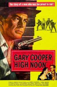"Poster for the movie ""High Noon"""