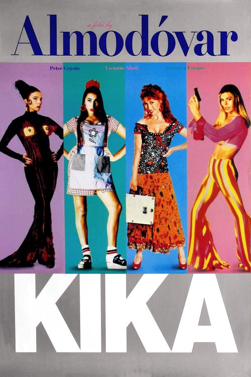 """Poster for the movie """"Kika"""""""
