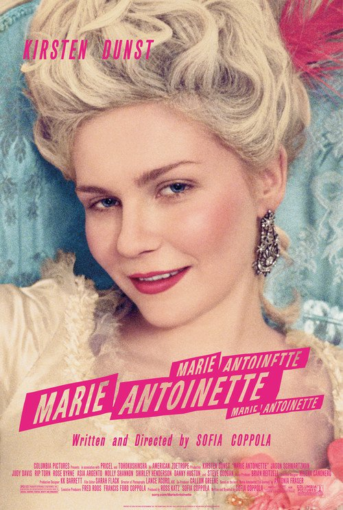 "Poster for the movie ""Marie Antoinette"""