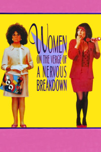 "Poster for the movie ""Women on the Verge of a Nervous Breakdown"""