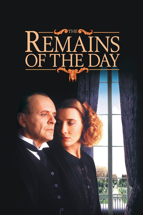 "Poster for the movie ""The Remains of the Day"""