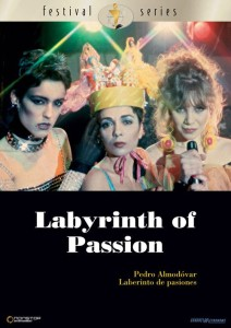 "Poster for the movie ""Labyrinth of Passion"""