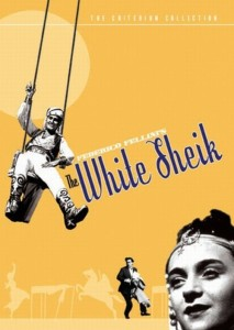 "Poster for the movie ""The White Sheik"""