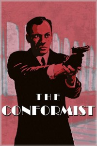 "Poster for the movie ""The Conformist"""