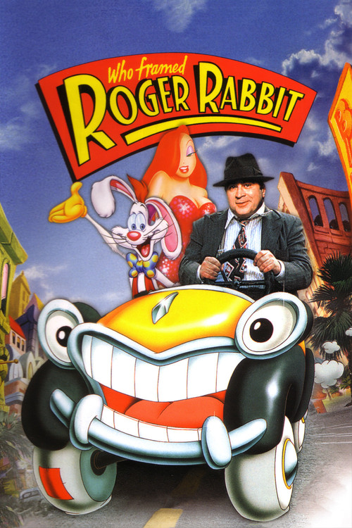 "Poster for the movie ""Who Framed Roger Rabbit"""