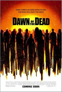 "Poster for the movie ""Dawn of the Dead"""
