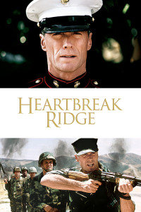 "Poster for the movie ""Heartbreak Ridge"""