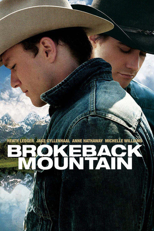 "Poster for the movie ""Brokeback Mountain"""