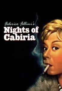 "Poster for the movie ""Nights of Cabiria"""