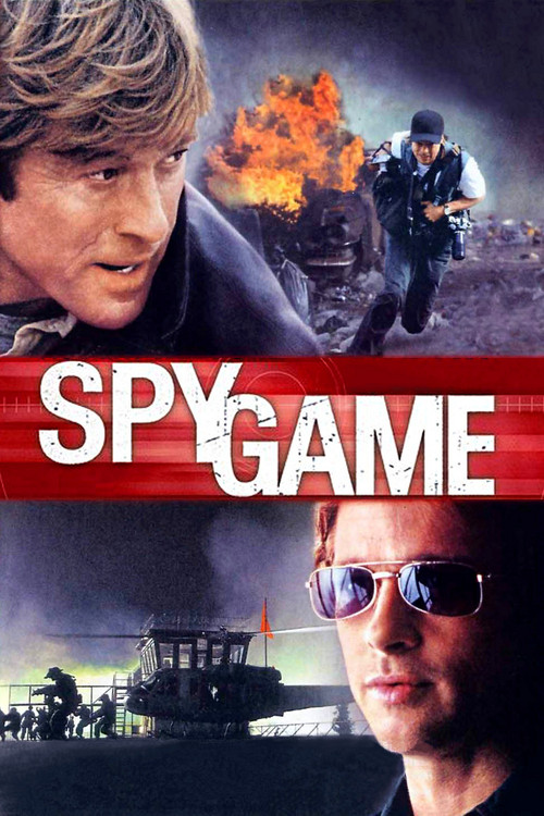 """Poster for the movie """"Spy Game"""""""