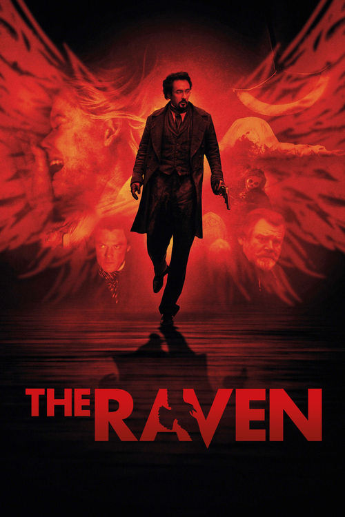 "Poster for the movie ""The Raven"""