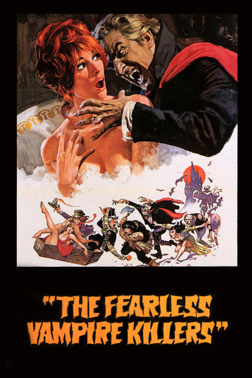 "Poster for the movie ""The Fearless Vampire Killers"""