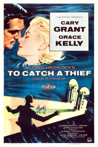 "Poster for the movie ""To Catch a Thief"""