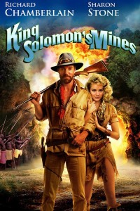 "Poster for the movie ""King Solomon's Mines"""