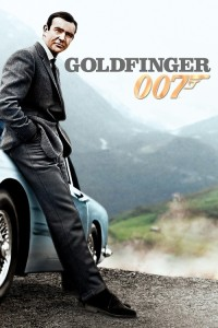 "Poster for the movie ""Goldfinger"""