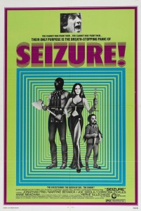 "Poster for the movie ""Seizure"""