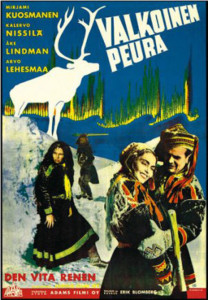 "Poster for the movie ""The White Reindeer"""