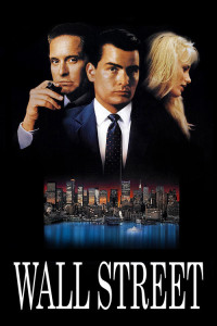 "Poster for the movie ""Wall Street"""