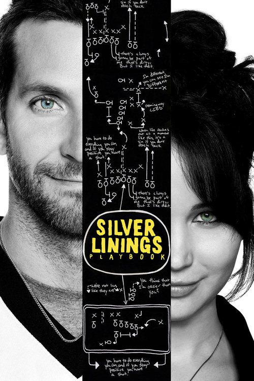 "Poster for the movie ""Silver Linings Playbook"""
