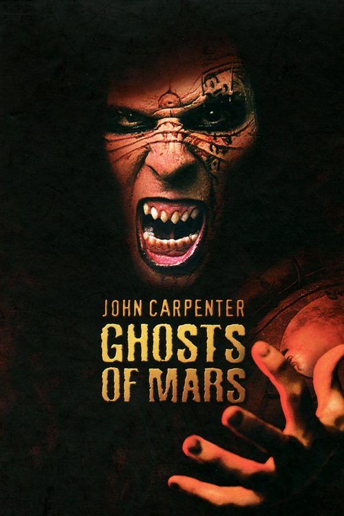 "Poster for the movie ""Ghosts of Mars"""