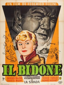 "Poster for the movie ""Il bidone"""