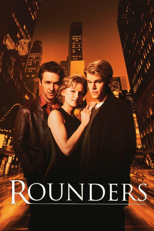 """Poster for the movie """"Rounders"""""""