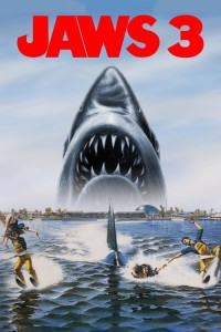 "Poster for the movie ""Jaws 3-D"""