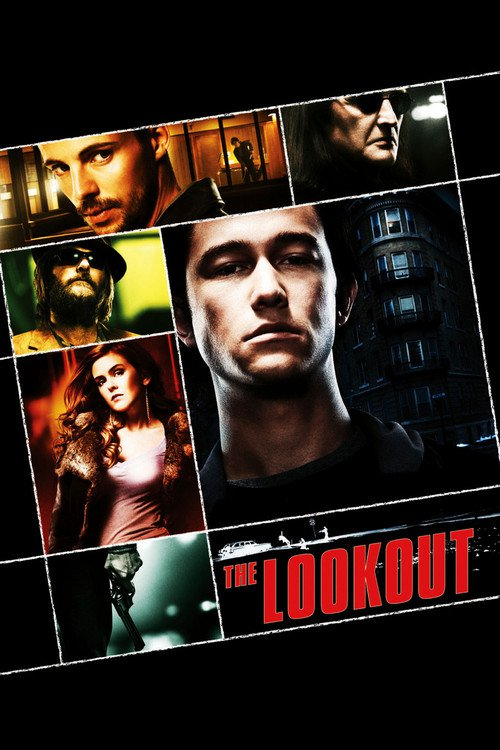 "Poster for the movie ""The Lookout"""