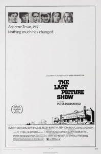 """Poster for the movie """"The Last Picture Show"""""""