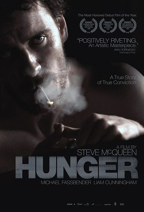 """Poster for the movie """"Hunger"""""""