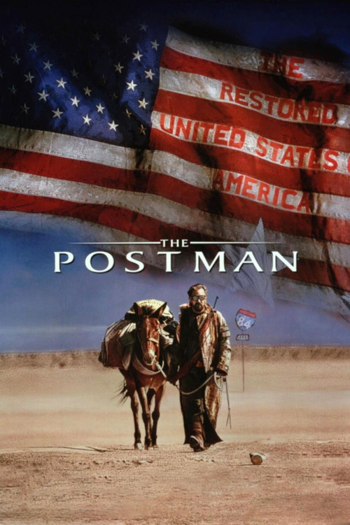 """Poster for the movie """"The Postman"""""""