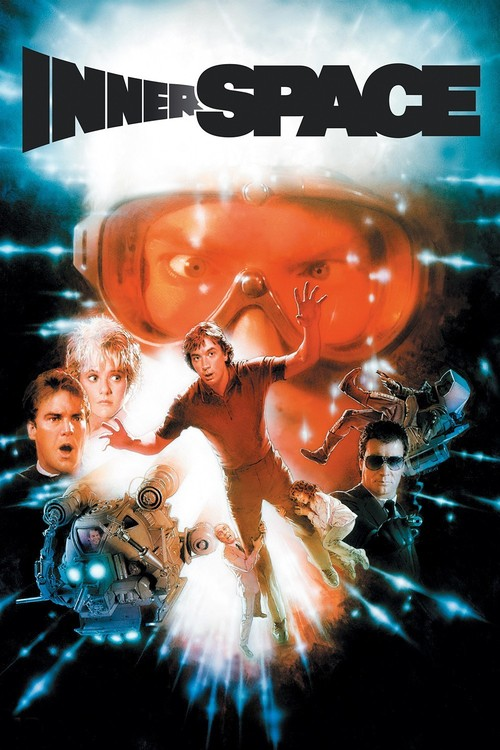 """Poster for the movie """"Innerspace"""""""
