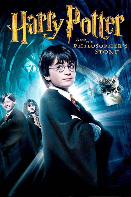 """Poster for the movie """"Harry Potter and the Philosopher's Stone"""""""